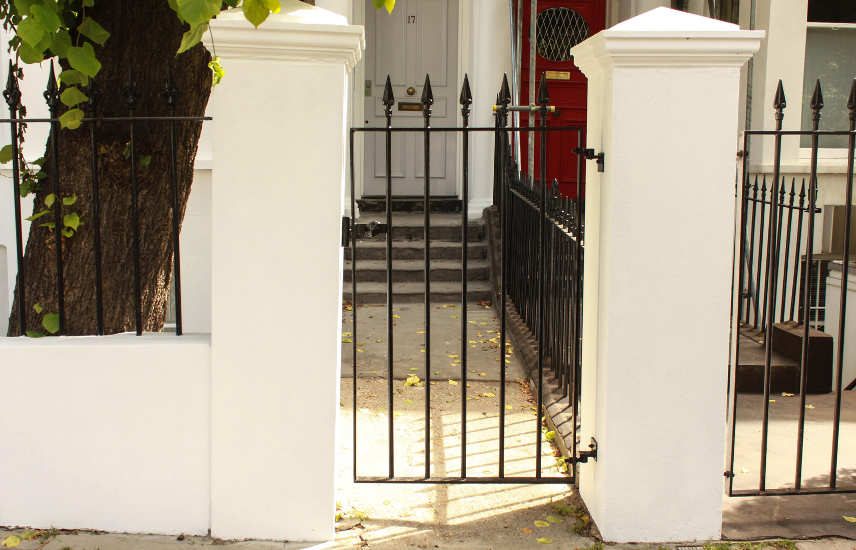 Gate and posts